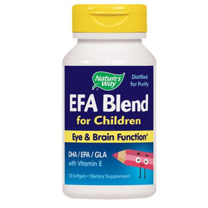 EFA Blend for Children - 120 Sftgls