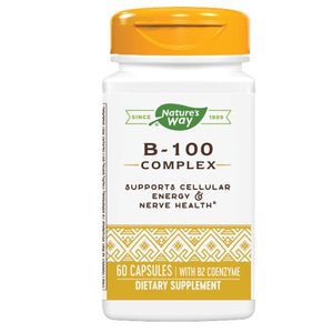 B-100 Complex 60 Caps by Nature's Way