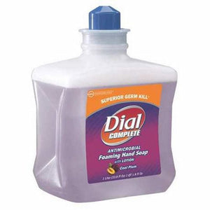 Antimicrobial Soap Dial  Complete  Foaming 1,000 mL Dispenser Refill Bottle Cool Plum Scent Case of 4 by Lagasse