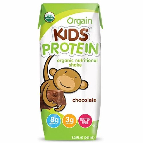 Pediatric Oral Supplement Orgain Kids Protein Organic Nutritional Shake Chocolate Flavor 8? oz. Ca - 1 Each by Orgain Orgain shakes have organic protein, fruits and veggies, and a taste kids love8 grams of protein