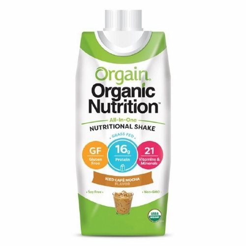 Oral Supplement Orgain Organic Nutritional Shake Iced Caf? Mocha Flavor 14 oz. Container Carton Rea - 1 Each by Orgain 19 grams of organic proteinOrganic fruit and veggie blend26 vitamins and minerals