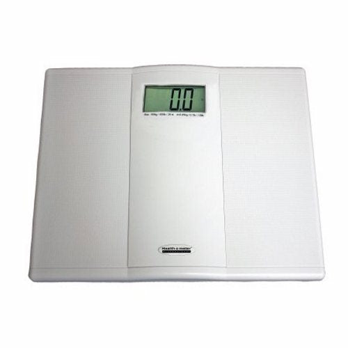 Floor Scale Health O Meter  Digital Audio Display 550 lbs. Battery Operated 1 Each by Health O Meter