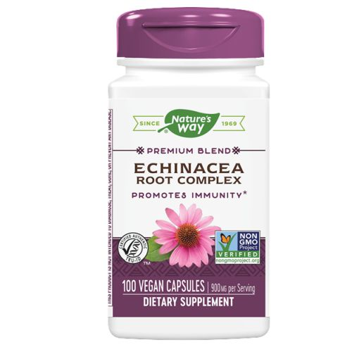 Echinacea Organic Root Complex 100 CAP by Nature's Way
