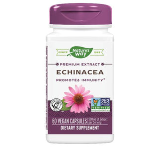 Echinacea - Standardized Extract 60 Caps(Angustifolia)