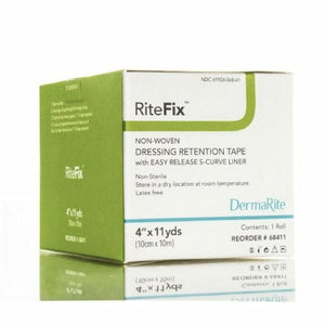 Dressing Retention Tape RiteFix Skin Friendly Nonwoven 1 Inch X 11 Yard NonSterile 1 Each by DermaRite