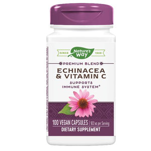 Echinacea - with Vitamin C, 100 CAP