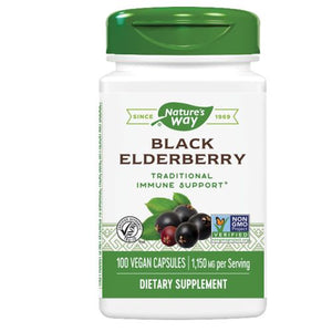 Elderberry 100 Caps by Nature's Way
