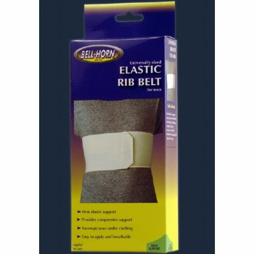 Rib Belt DonJoy  Contact Closure 28 to 50 Inch 6 Inch Male Male Style 1 Each by DonJoy