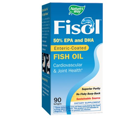 Fisol Delayed-Release Fish Oil 90 Sftgls by Nature's Way