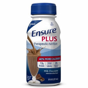 Oral Supplement Ensure  Plus Chocolate Flavor 8 oz. Container Bottle Ready to Use