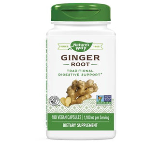 Ginger Root - VALUE SIZE, 180 CAP