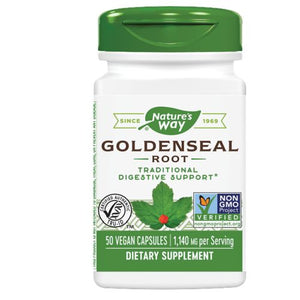 Goldenseal Root 50 Caps by Nature's Way
