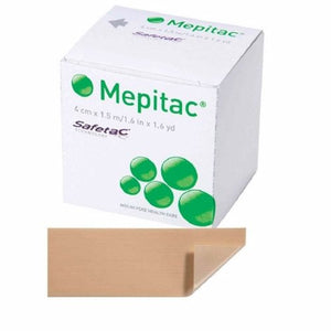 Medical Tape Mepitac  Skin Friendly Silicone 1-1/2 X 59 Inch Tan NonSterile 1 Count by Molnlycke Health Care Us