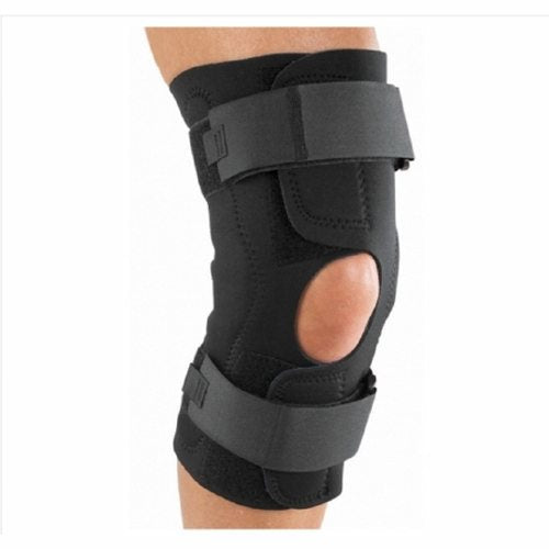 Knee Brace Reddie  Brace 2X-Large Wraparound / Hook and Loop Straps 25-1/2 to 28 Inch Circumference  Black 1 Each by DJO