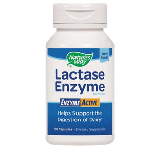 Lactase Enzyme 100 Caps by Nature's Way