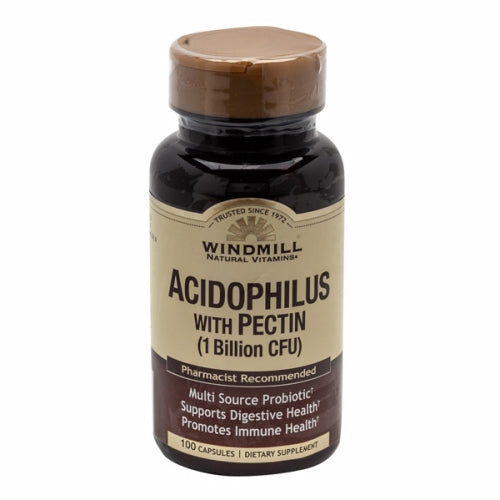 Acidophilus with Pectin 100 Caps by Windmill Health Products