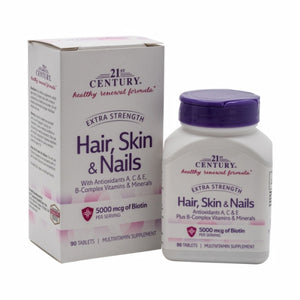 Hair, Skin & Nails Extra Strength