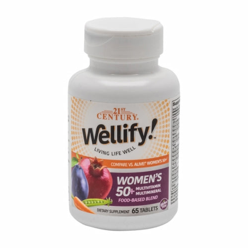 Wellify Women'S 50+ 65 Tabs by 21st Century
