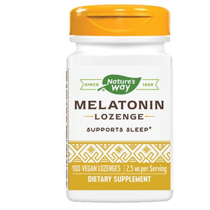 Melatonin Sublingual - 100 Lozenges