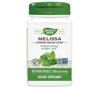 Melissa Lemon Balm Leaf 100 Caps