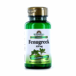 Fenugreek Seed 60 Caps by Windmill Health Products