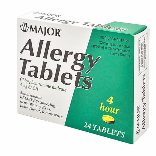Allergy Tablets 24 Tabs by Major Pharmaceuticals Allergy Tablets 24 TabsMajor Pharmaceuticals
