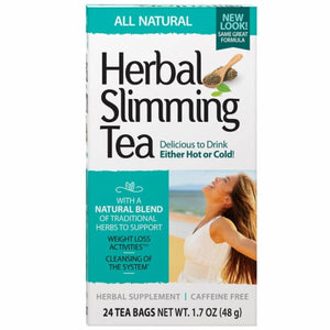 Herbal Slimming Tea Natural 24 Bags by 21st Century