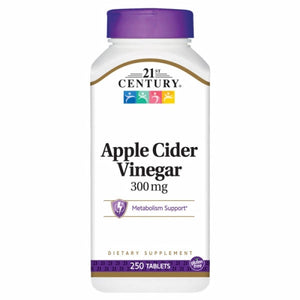 Apple Cider Vinegar 250 Tabs by 21st Century