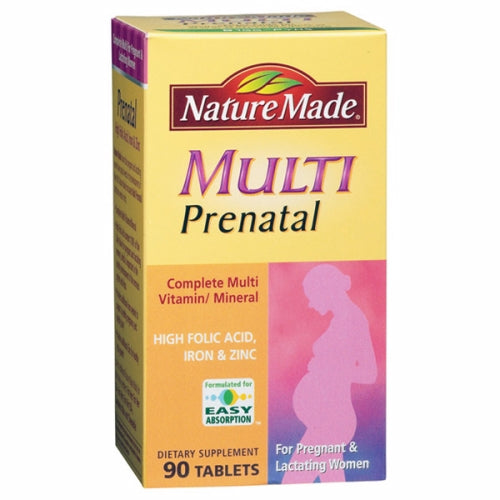 Prenatal Multivitamins 90 Tabs by Nature Made