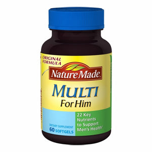 Multi For Him 60 Soft gels by Nature Made