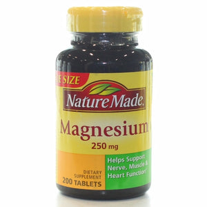 Magnesium 350mg - 200 Tabs by Nature Made