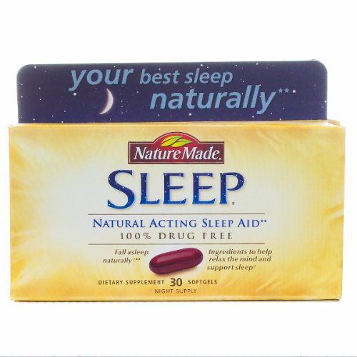 Sleep Aid Natural 30 Softgels by Nature Made