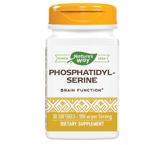 Phosphatidyl Serine 30 Soft Gels by Nature's Way