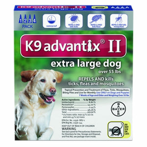 K-9 Advantix II for Extra Large Dogs Over 55 lbs