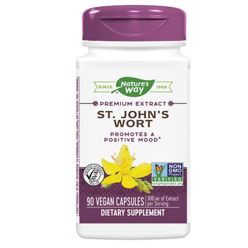 St. John's Wort STANDARDIZED, 90 CAP by Nature's Way