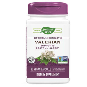 Valerian Standardized Extract - EXTRACT, 90 CAP