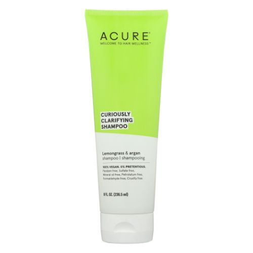Curiously Clarifying Shampoo Lemongrass & Argan 8 Oz by Acure