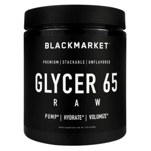 Glycer 65 Raw Unflavored 7.05 Oz by Black Market Labs