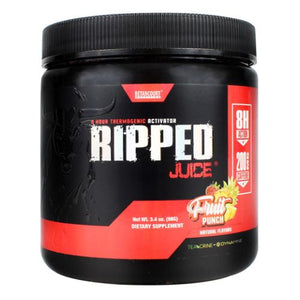 Ripped Juice Fruit Punch 3.4 Oz by Betancourt Nutrition