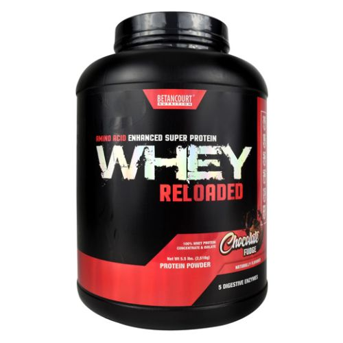 Whey Reloaded Chocolate Fudge 5.3 lbs by Betancourt Nutrition
