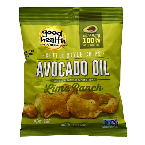 Kettle Chips Lime Rich 30 Each by Good Health Natural Foods