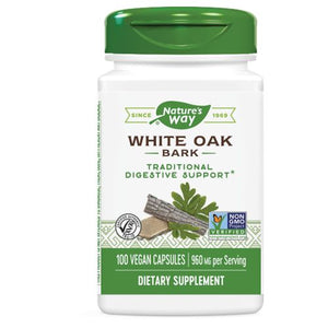 White Oak Bark - 100 Caps