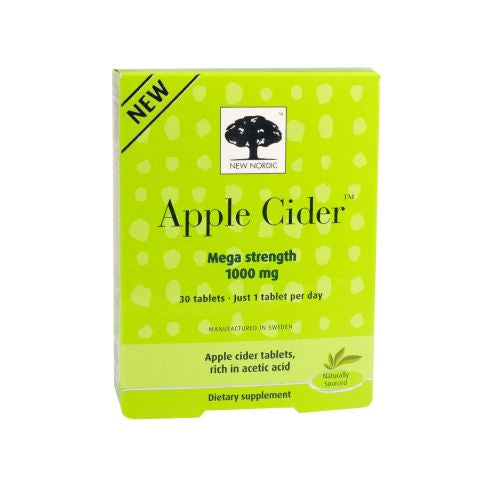 Apple Cider Mega Strength 30 Each by New Nordic US Inc