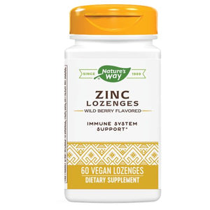 Zinc - 60 LOZENGES WITH ECHINACEA & VITAMIN C