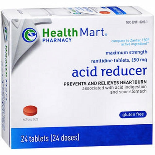 Health Mart Acid Reducer Tablets Maximum Strength 24 Tabs by Health Mart Health Mart Acid Reducer Tablets Maximum Strength 24 TabsHealth Mart