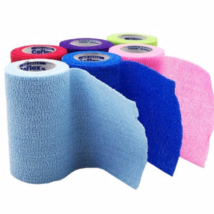 Cohesive Bandage 4 Inch X 5 Yard 1 Each by Andover Coated Products