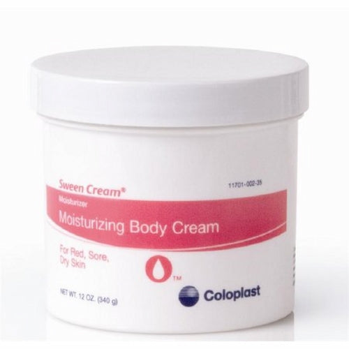 Hand and Body Moisturizer 12 Oz by Coloplast Moisturizing body cream to help reduce the risk of dry skin. Non-occlusive formula. Will not interfere with tape adhesion.