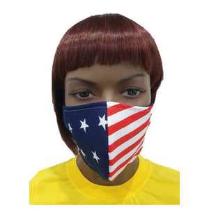 Fancy Cloth Face Mask for Adult - American Flag