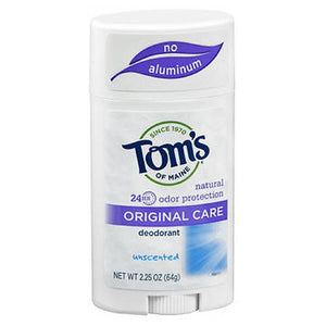 Toms Of Maine Natural Deodorant Stick - Unscented 2.25 Oz