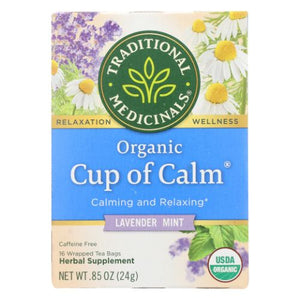 Organic Cup of Calm 16 Bags